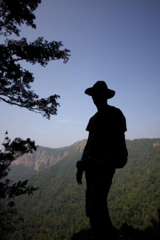 PAYANIGA - From the top of Barkana falls