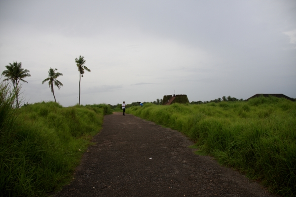 Overcast and green at Bekal fort