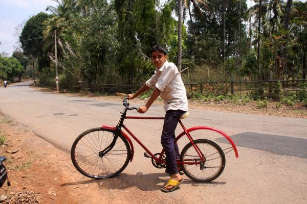 Cycling around in Sharavathi Valley