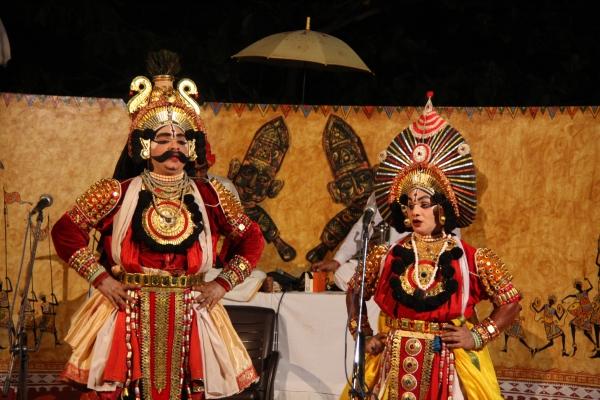 Payaniga: Yakshagana: The war between Sudhanva and Arjuna