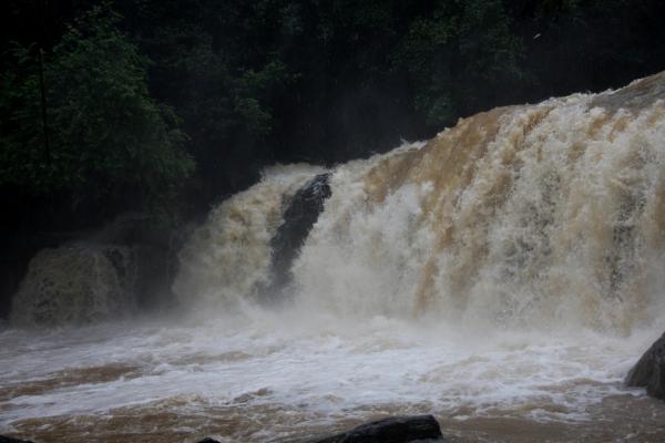 Payaniga: Mookana mane falls in Monsoon