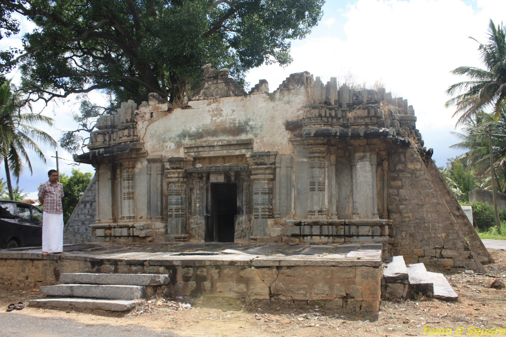 Entrance to Lord Eshwara Temple